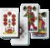 Karetní hry, hrací kostky, pexesa