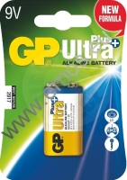 Baterie GP Ultra Plus Alkaline 9V -  blistr