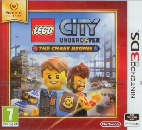 LEGO City Undercover: The Chase Begins (3DS)