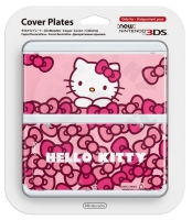 New 3DS Cover Plate Hello Kitty