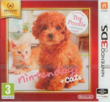 Nintendogs + Cats - Toy Poodle & new Friends (3DS)