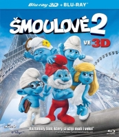 The Smurfs 2 2D+3D (BD)