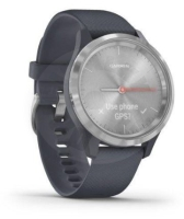 Garmin Vivomove 3S Sport Silver with dark blue band
