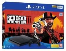 Sony PlayStation 4 Slim 500 GB Red Dead Redemption 2 bundle
