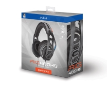 Plantronics headphones RIG 400HS, black (PC/PS4)