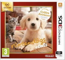 Nintendogs + Cats - Golden Retriever & new Friends (3DS)