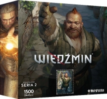 The Witcher Puzzle -Zoltan Chivay - 1500pcs - 2. series