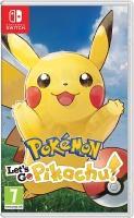Pokémon Let's Go Pikachu (Switch)
