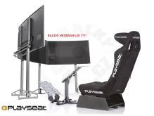 Playseat Evolution Pro Alcantara + TV Stand Pro Triple Package