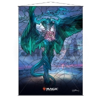 Magic: The Gathering Stained Glass Wall Scroll - Ugin