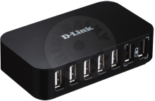 D-Link 7-Port Hi-Speed USB 2.0 HUB (PC)