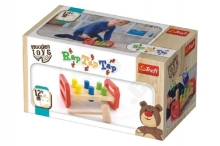 Trefl Hammer with wooden hammer Wooden Toys in a box 22,5x12,5x10,5cm 12m +