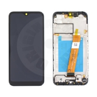 Samsung original LCD and touch layer for Galaxy A015 (A01 2020) - black