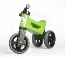 Teddies Bouncer FUNNY WHEELS Rider Sport green 2in1, saddle height 28 / 30cm load capacity