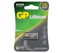 GP Photo Lithium Battery CR123A