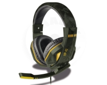 Steelplay Wired Headset - HP43 Army (PC/PS4/Switch/XONE)