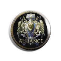 Jinx World of Warcraft Alliance Button