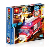 Light Stax H12103 Hybrid Light-up Fire Truck