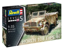 REVELL Plastic ModelKit Military - Horch 108 Type 40 1:35