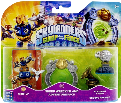 Skylanders: Swap Force - Sheep Wreck Island Adventure Pack