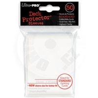 UltraPRO Deck Protector: 50 Sleeves - Bílá