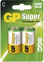 GP - Super alkalická C (LR14), 2ks, 1.5V