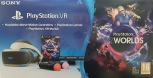 Sony PlayStation VR V2 + 2x PS Move + PlayStation 4 Camera V2 + VR Worlds (PS4)