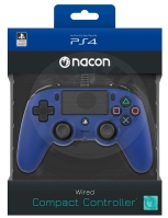 Nacon Wired Compact Controller - modrá (PS4)