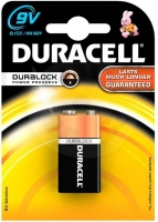 Duracell BASIC 9V, 1ks, 1.5V
