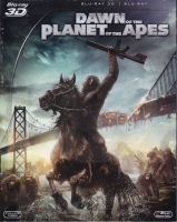 Dawn of the Planet of the Apes 2D + 3D (BD)