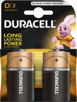 Duracell BASIC D, 2ks, 1.5V