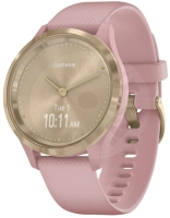 Garmin Vivomove 3S Sport Gold with pink band