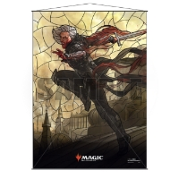 Magic: The Gathering Stained Glass Wall Scroll - Sorin