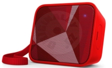 Philips wireless speaker PixelPop BT110 - red