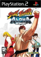 Street Fighter Alpha Anthology (PS2) použité