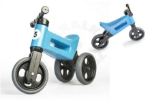 Teddies Bouncer FUNNY WHEELS Rider Sport blue 2in1, saddle height 28 / 30cm load capacity