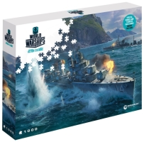 World of Warships Puzzle - Panasijské torpédoborce - 1000ks