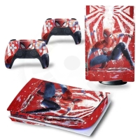 Vinyl cover (stickers) for console - Spider-Man (PS5)