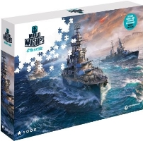 World of Warships Puzzle - Připraveni k boji - 1000ks