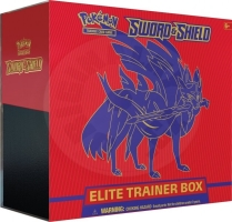 Pokémon Sword & Shield -  Elite Trainer Box - Zacian