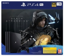 Sony PlayStation 4 Pro 1 TB Death Stranding bundle