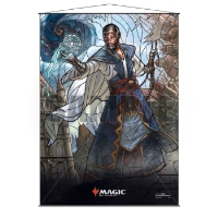Magic: The Gathering Stained Glass Wall Scroll - Teferi