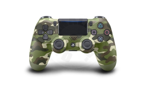 Sony DualShock 4 Green Cammo V2 (PS4)