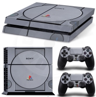 Vinyl cover (stickers) for console - Playstation 1 (PS4)