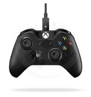 Microsoft Xbox One gamepad + cable for Windows (XONE / PC)