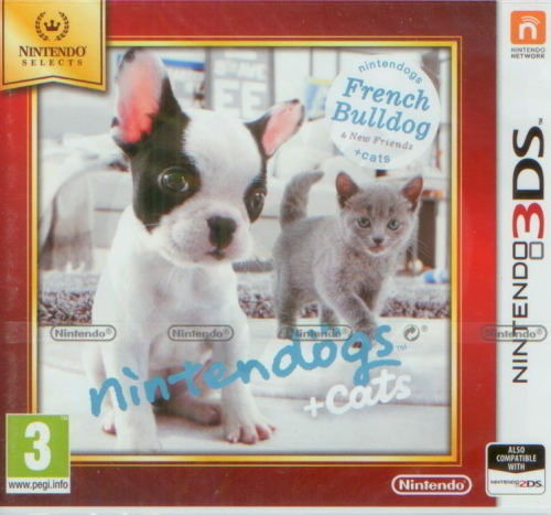 Nintendogs + Cats - French Bulldog & new Friends (3DS)