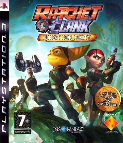 Ratchet & Clank: Quest for Booty (PS3) použité