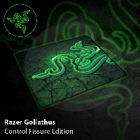 Razer Goliathus - Control - Fissure Edition - Small (PC)
