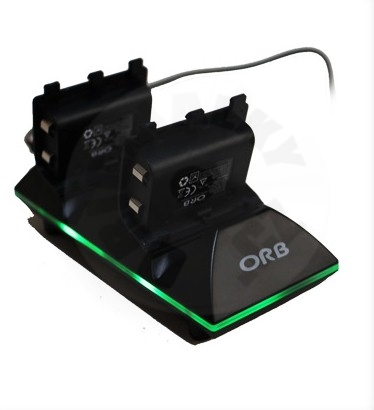 ORB Dual Controller Charge Dock & Battery Pack (XONE)
