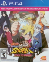 Naruto Shippuden: Ultimate Ninja Storm 4 + Road to Boruto expansion (PS4)